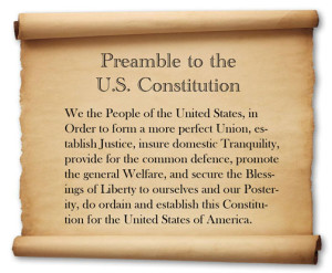 U.S. Constitution Preamble 3